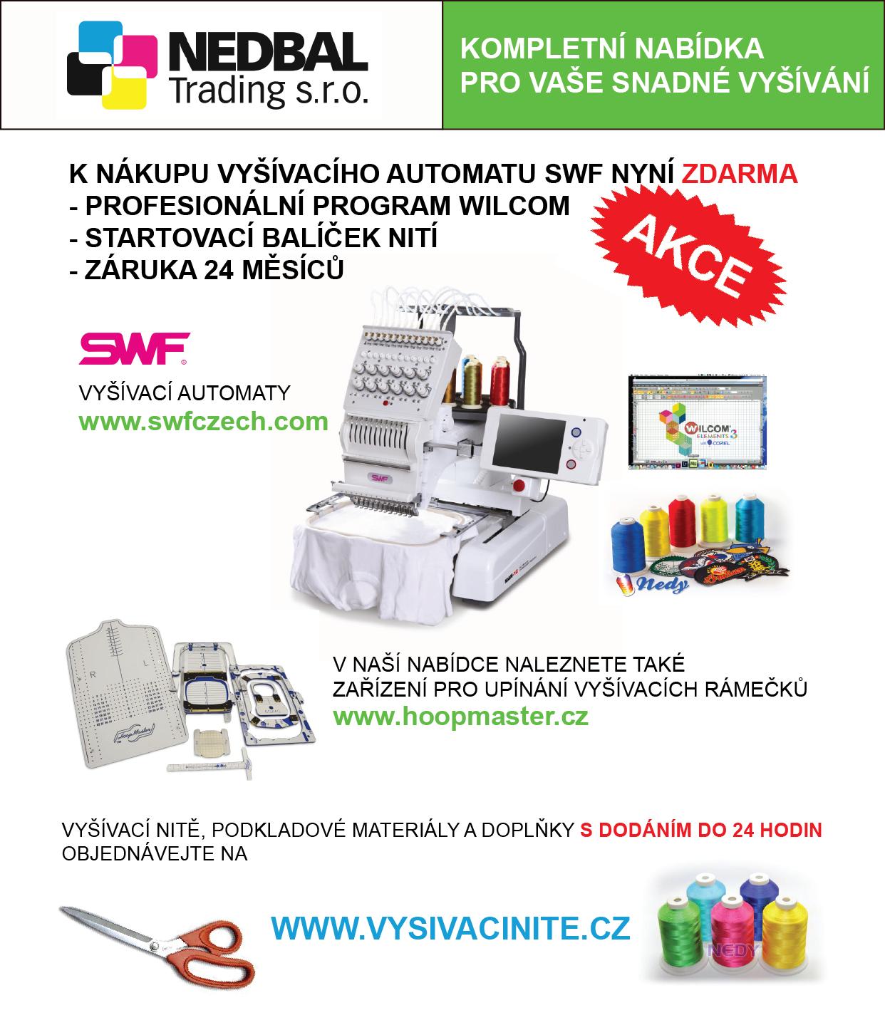 Nedbal Trading akce SWF