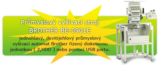 BROTHER: BE - 0901E - AC - 0F 130S - 230V - ploché vyšívání